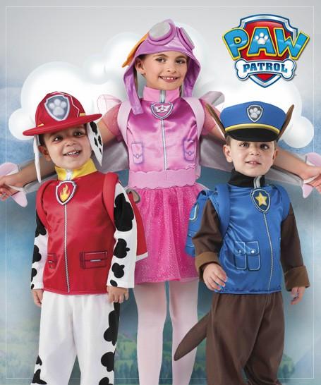 Paw Patrol Costumes