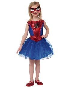 Spidergirl tutu costume for a girl