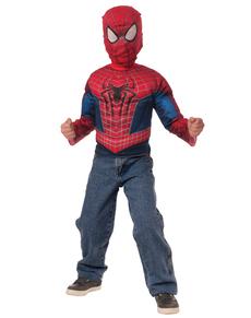 Boys The Amazing Spiderman 2 Costume Kit