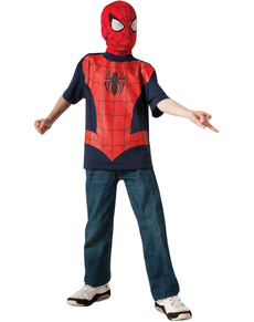 Ultimate Spiderman tshirt for a child