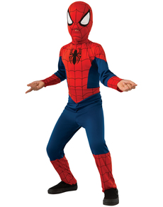Classic Ultimate Spiderman costume for a child