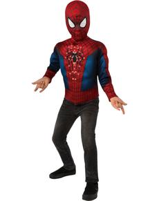 Boys Light-Up Spiderman Costume Kit